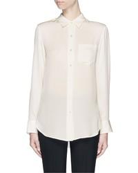 Theory Simara Silk Georgette Shirt