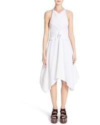 Proenza Schouler Cotton Silk Fil Coupe Dress