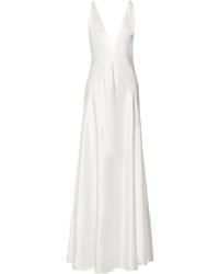 Michael Lo Sordo Alexandra Silk Satin Gown