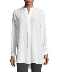 Dara long sleeve silk blouse medium 6571440