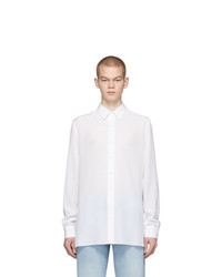 Valentino White Silk Shirt