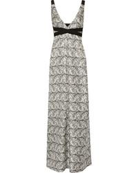 White Silk Maxi Dress