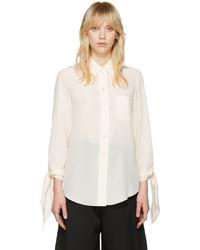 Chloé Ivory Classic Pocket Shirt