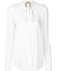 No.21 No21 Ruffled Trim Shirt