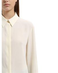Salvatore Ferragamo Silk Crepe De Chine Shirt