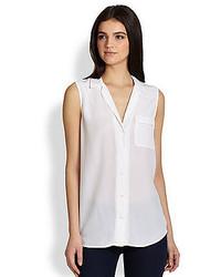 Equipment Keira Silk Sleeveless Shirt