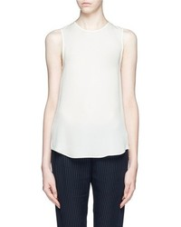 Nobrand Bringam Silk Georgette Sleeveless Blouse