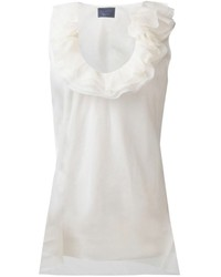 Lanvin Ruffled Collar Top