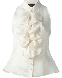 Luisa Spagnoli Vintage Ruffled Top
