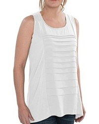 August Silk Modelcurrentbrandname Shirt Sleeveless