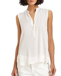 Vince sleeveless silk top medium 102210