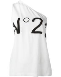 No.21 No21 Asymmetric Logo Tank