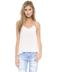 One by cami nyc lace racer camisole medium 424635