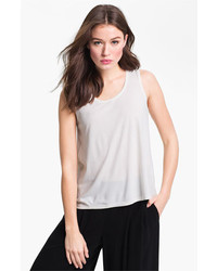 Scoop neck silk tank medium 424614