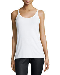 Eileen Fisher Silk Jersey Long Slim Camisole Plus Size