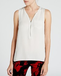 The Kooples Top Signature Silk Tank