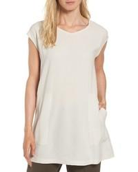 Silk crepe tunic medium 4401464