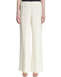 Silk wide leg pants petite medium 651634