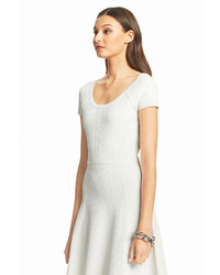 Diane Von Furstenberg Dvf Shea Knit Fit And Flare Dress