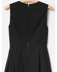 c7ad0b5987 ... Gap Laser Cut Fit Flare Dress