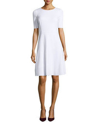 Elie Tahari Maria Fit And Flare Dress