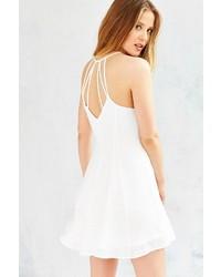 Glamorous Strappy Back Skater Dress