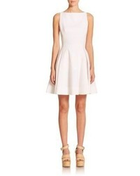 Polo Ralph Lauren Textured Fit  Flare Dress