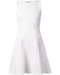 Valentino Perforated Skater Dress