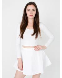 American Apparel Natural Denim Circle Skirt
