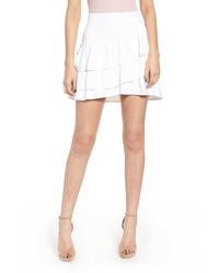 Endless Rose Ruffle Miniskirt
