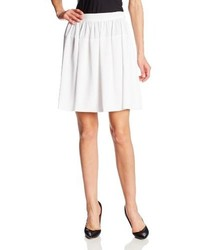 Calvin Klein Solid Circle Skirt