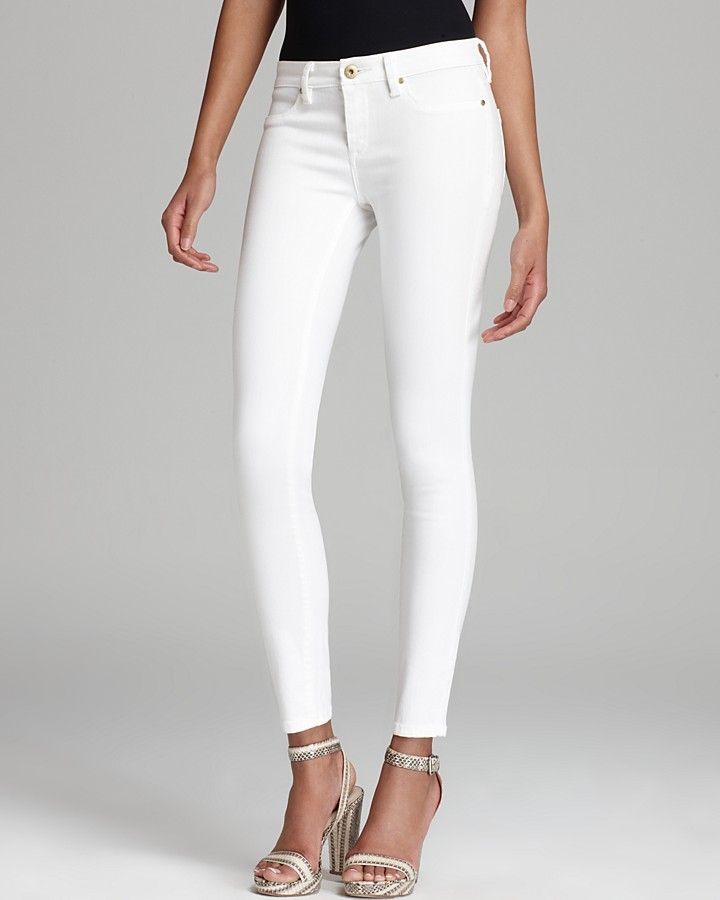 Blank NYC Blanknyc Jeans Skinny In White Lines | Where to buy ...