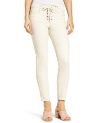 Blanknyc lace up crop skinny jeans medium 3731203