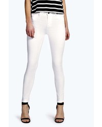 Boohoo Lilly Super Stretch Button Reform Jeggings