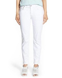 Eileen Fisher Gart Dyed Stretch Ankle Skinny Jeans