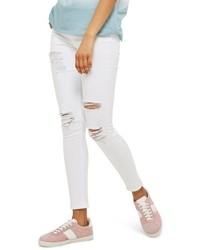 Topshop Jamie Super Rip High Waist Skinny Jeans