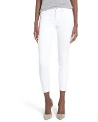 J Brand Mid Rise Capri Skinny Jeans