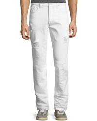 Hudson Sartor Slouchy Skinny Denim Jeans White