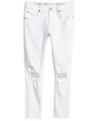 H&M Super Skinny Ankle Jeans
