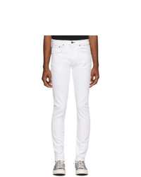 Rag and Bone White Fit 1 Standard Jeans