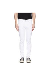 Frame White Lhomme Skinny Jeans