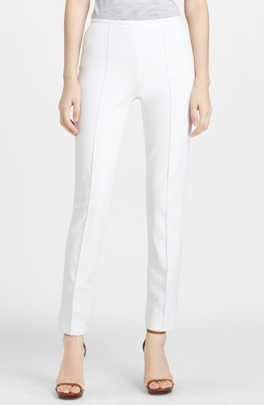 Michael Kors Michl Kors Skinny Stretch Cotton Twill Pants