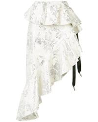 MARQUES ALMEIDA Marquesalmeida Jacquard Asymmetric Skirt