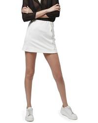 Topshop Scallop Front Miniskirt