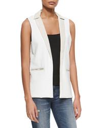 Townsen Adventure Blazer Style Vest White