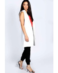 Boohoo Sally Sleeveless Tailored Blazer