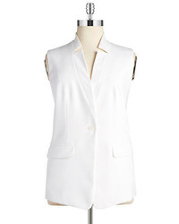 Jones New York Plus Plus Sleeveless Blazer