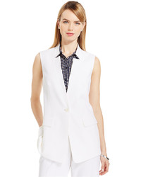 Jones New York Collection Reverse Collar Blazer Vest
