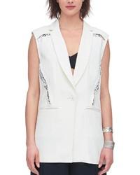Rebecca Taylor Suiting Blazer Vest