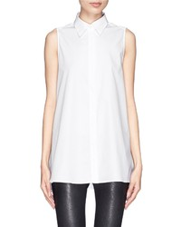 Nobrand Ash Sleeveless Poplin Shirt